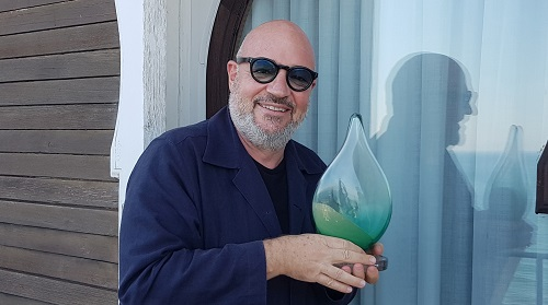 Gianfranco Rosi riceve il Green Drop Award